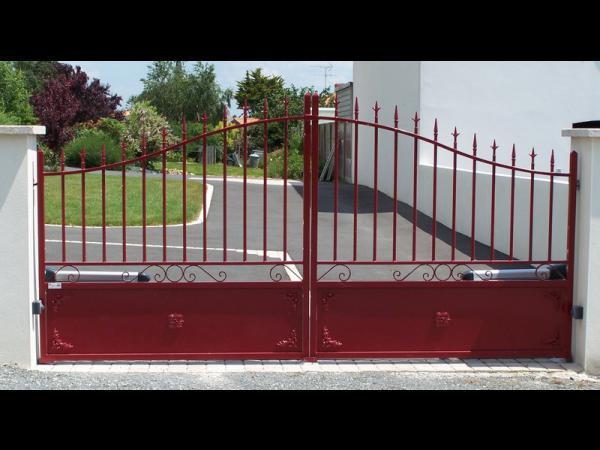 Portail et portillon clôture
